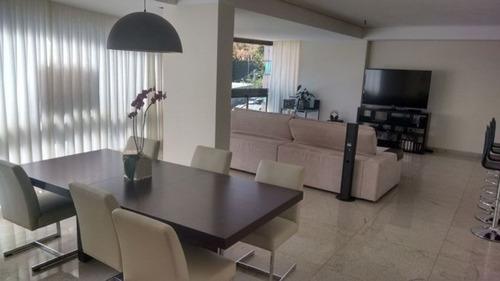 apartamento com 4 quartos para comprar no belvedere em belo horizonte/mg - 956