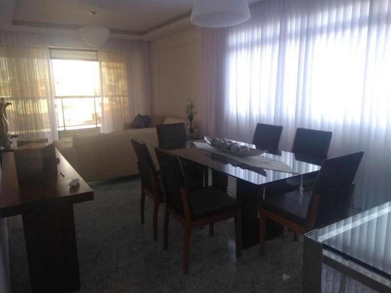 apartamento com 4 quartos para comprar no castelo em belo horizonte/mg - 424