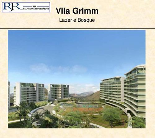 apartamento com 4 quartos para comprar no condomínio vale dos cristais em nova lima/mg - 291