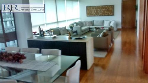 apartamento com 4 quartos para comprar no condomínio vale dos cristais em nova lima/mg - 298