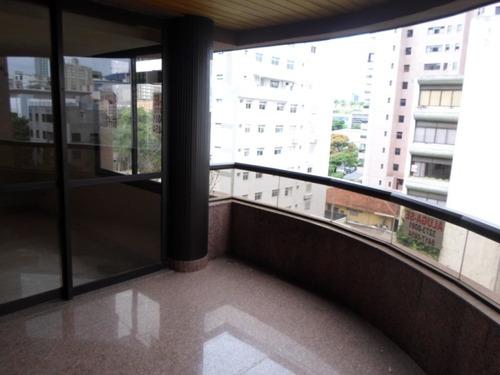apartamento com 4 quartos para comprar no lourdes em belo horizonte/mg - 478