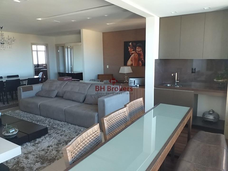 apartamento com 4 quartos para comprar no vila da serra em nova lima/mg - 17351