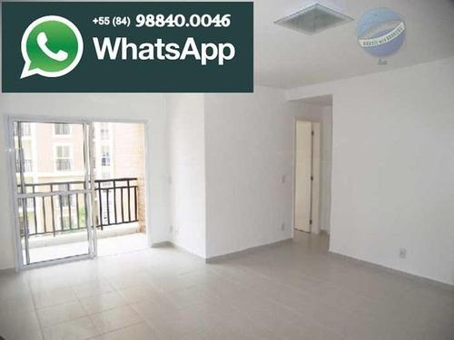 apartamento com 4 quartos, sendo 2 suíte, em lagoa nova, 171,29m² - smile de lagoa nova - ap0053