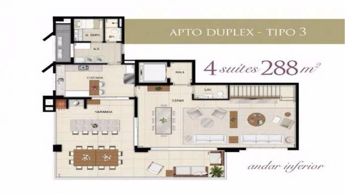 apartamento com 4 quartos setor bueno