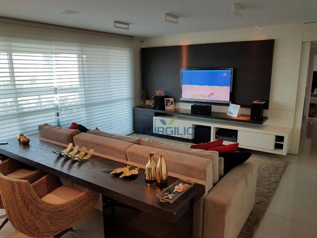 apartamento com 4 quartos à venda, 210 m² por r$ 1.500.000 - setor marista - goiânia/go - ap0584