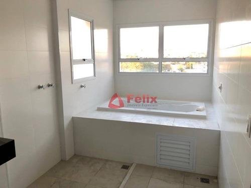 apartamento com 4 suítes, 360 m², 5 vagas, edifício suprême residence - taubaté/sp - ap1441