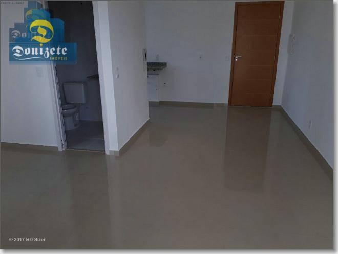 apartamento com 41,20m2 - com armários planejados - 1 dormitório - garagem para 1 carro para venda na vila alpina. - ap8325