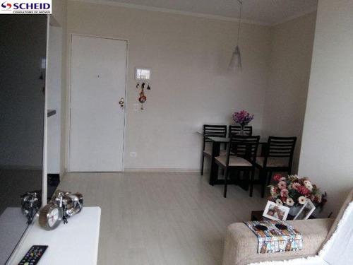 apartamento com 48 m², com 2 dormitórios, sala, cozinha, banheiro, área de serviço. - mc2400