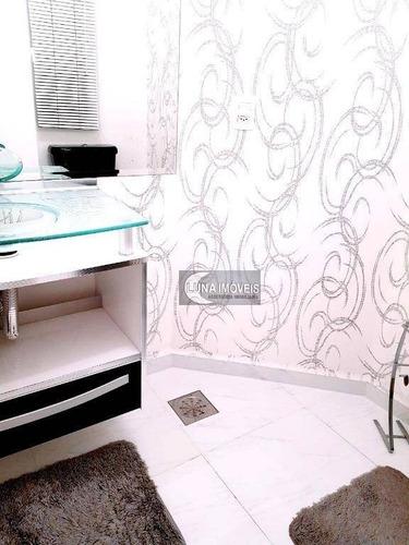 apartamento com 5 dormitórios à venda, 224 m² por r$ 870.000,00 - centro - são bernardo do campo/sp - ap1910