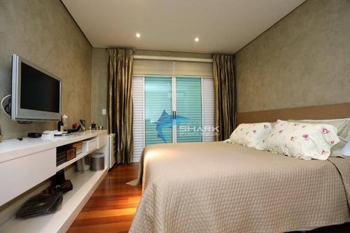 apartamento com 5 dormitórios à venda, 512 m² por r$ 4.000.000 - alphaville industrial - barueri/sp - ap0009