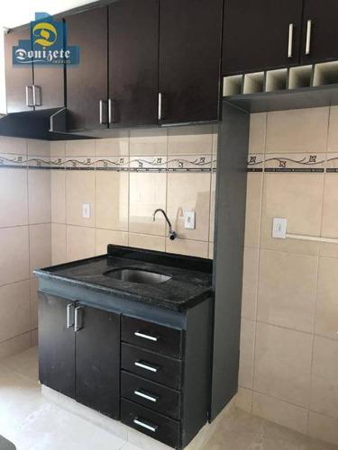 apartamento com 61m2 - 2 dormitórios - garagem para venda no jardim alzira franco. - ap8476