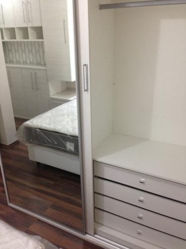 apartamento com 74 m² de área útil, duplex, novo na granja julieta - porteira fechada - 345-im89312