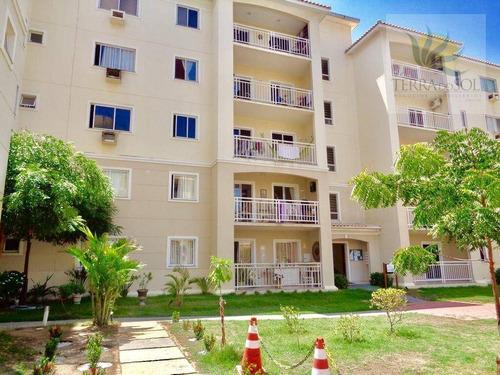 apartamento com 83² no terraço dos ventos - cambeba - ap0417
