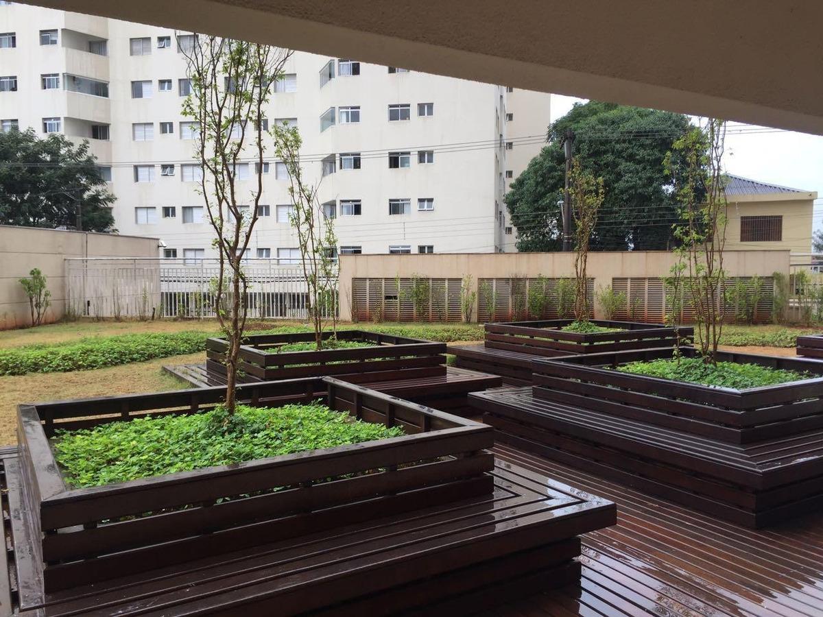 apartamento com 91m² a venda com 3 dormitórios 1 suíte e 2 vagas de garagem no condomínio parque clube, por r$ 680.000 - vila augusta - guarulhos/sp - ap0195