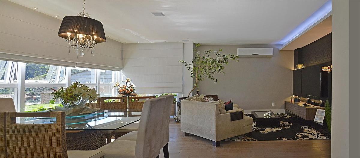 apartamento com amplo terraço com piscina à venda, ponta aguda, blumenau. - ap2185