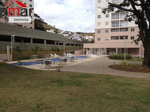 apartamento com área privativa com 1 quartos para comprar no paqueta em belo horizonte/mg - 747