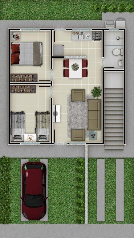 apartamento com área privativa com 2 quartos para comprar no monte sinai em esmeraldas/mg - 3299