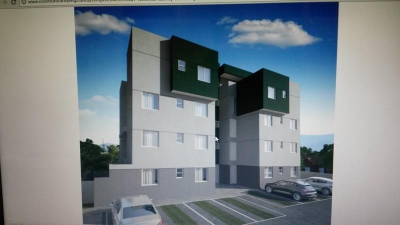 apartamento com área privativa com 2 quartos para comprar no santa mônica em belo horizonte/mg - 44134