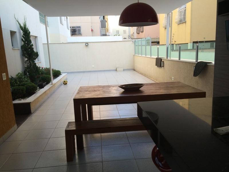 apartamento com área privativa com 3 quartos para comprar no castelo em belo horizonte/mg - 846