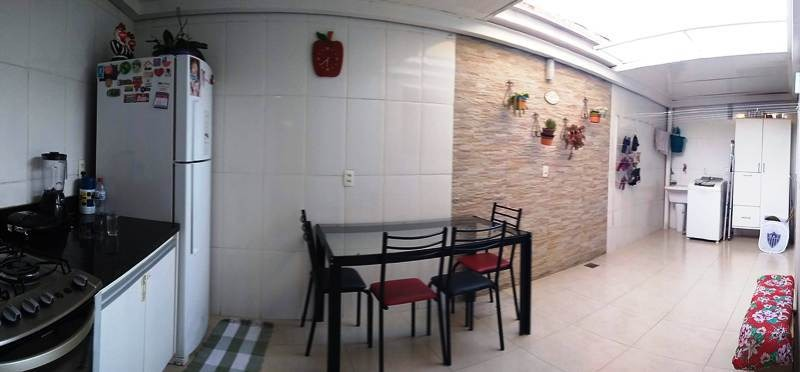 apartamento com área privativa. santa branca, 3 quartos 1 suite, closet, montado e decorado - 2364