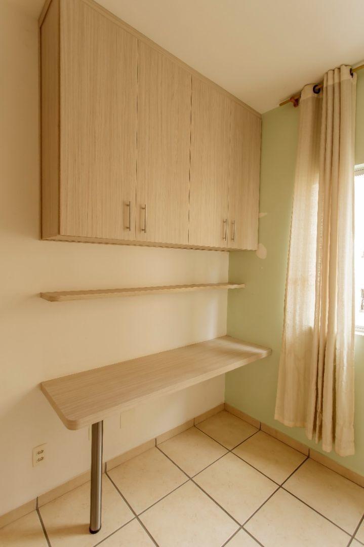 apartamento com armários planejados - bairro planalto - 2 q