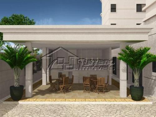 apartamento com churrasqueira na sacada e lazer completo no jardim esplanada