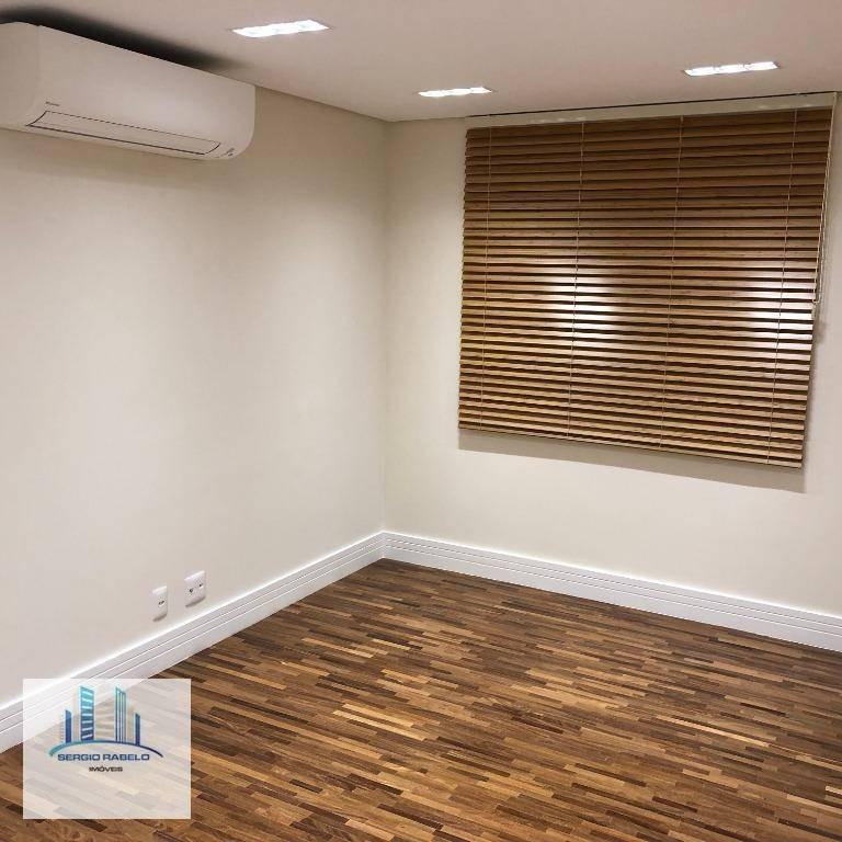 apartamento com churrasqueira à venda, 242 m² por r$ 1.450.000 - nova petrópolis - são bernardo do campo/sp - ap3301