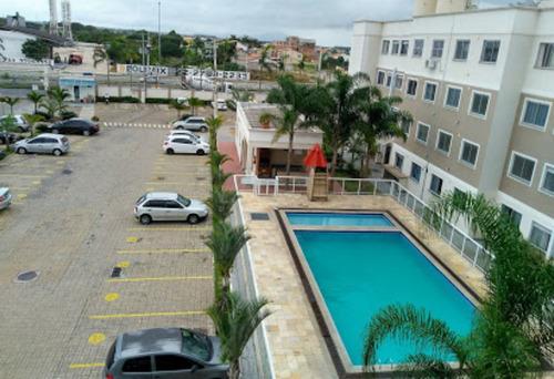 apartamento com dois quartos, r$55.000 + financiamento r$580