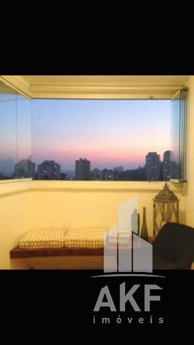 apartamento com lareira. - v-9368