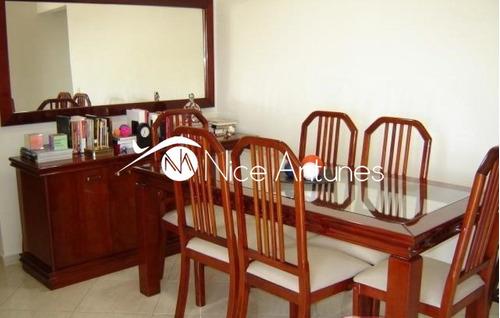 apartamento com ótima localização, fácil acesso a marginal tiete - na3077