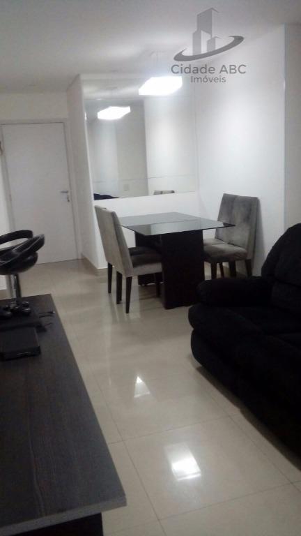 apartamento com planejados - barcelona - são caetano do sul. - ap0763