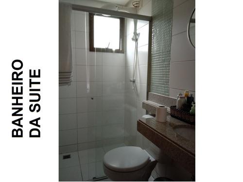 apartamento com suite mais dois quartos