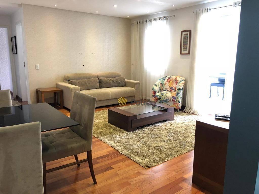 apartamento com varanda gourmet, condomínio club proximo ao shopping metrópole centro sbcampo - ap2381