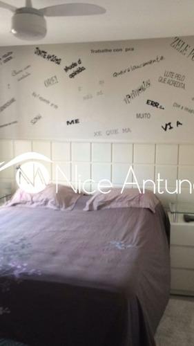 apartamento com varanda gourmet e lazer de clube - na10555