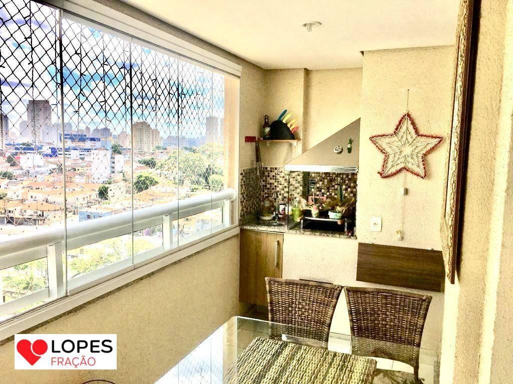 apartamento com varanda gourmet no tatuapé - ap2719