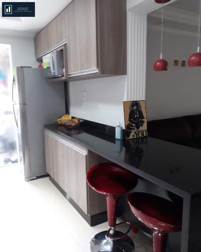 apartamento com varanda gourmet, ótima localização! - ap00130 - 33715534