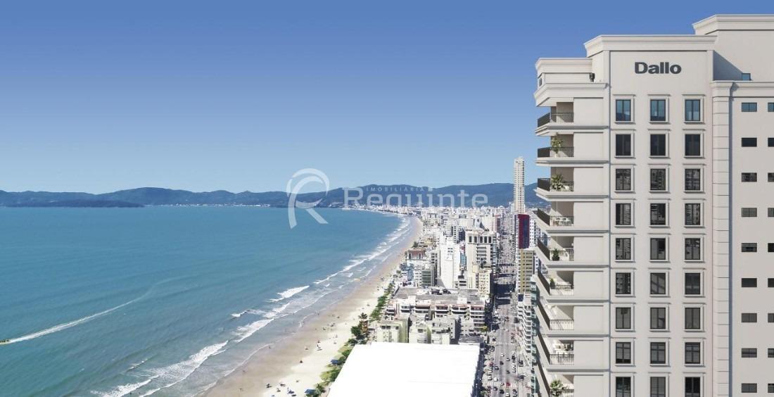 apartamento com  vista para o mar 4 suítes itapema - 1287