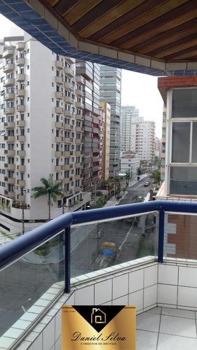 apartamento com vista para o mar em vila tupi praia grande