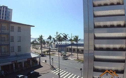 apartamento com vista para o mar na ocian em praia grande