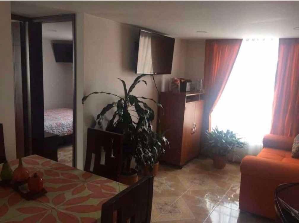 apartamento con acabados, 2 habitaciones.