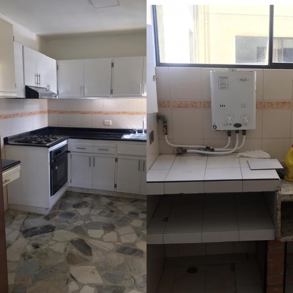 apartamento, con habitación de servicio,baño incluido