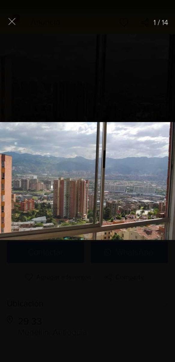 apartamento con hermosa vista ala ciudad