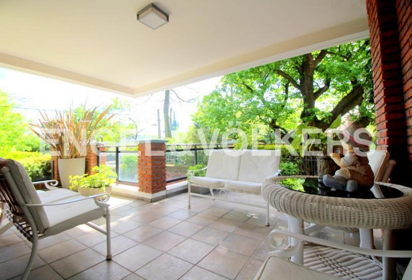 apartamento con jardín en carrasco