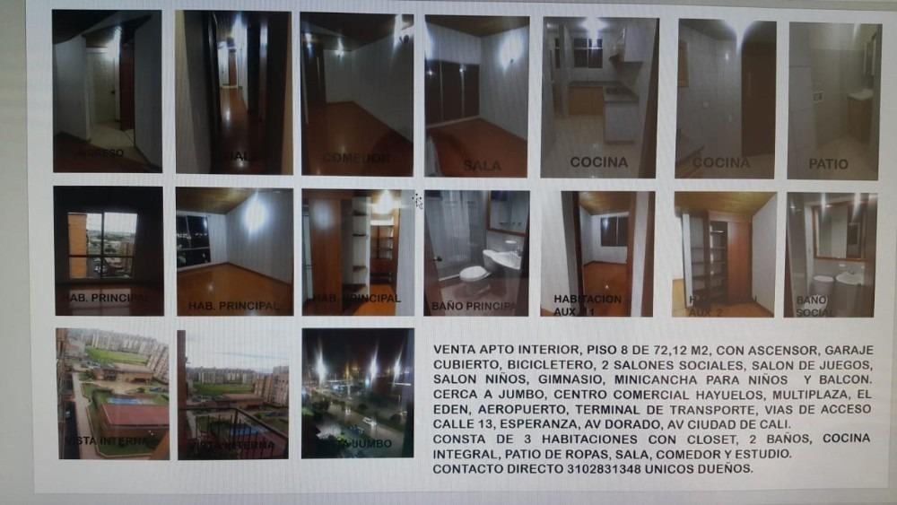 apartamento con muy buena iluminación, muy bien cuidado, 8 p