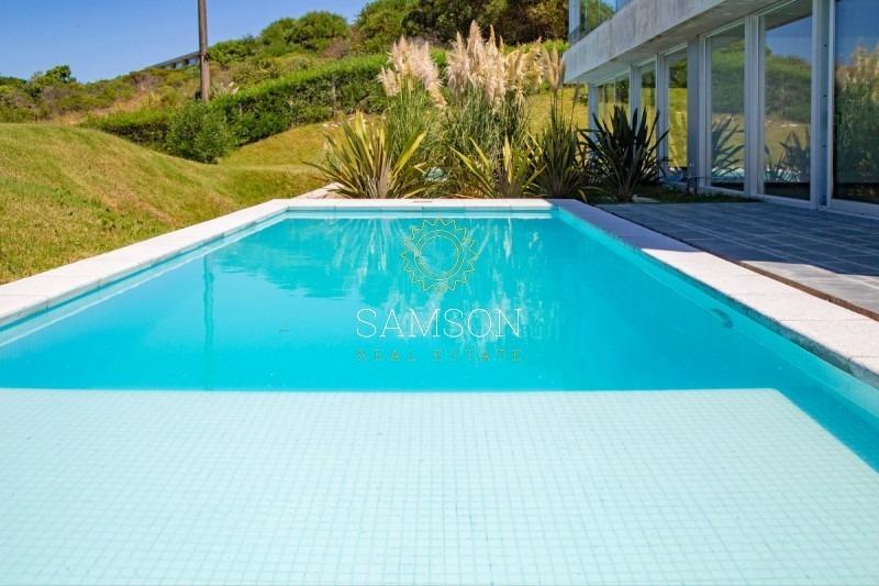 apartamento con piscina propia y vista al mar, punta ballena.-ref:63652