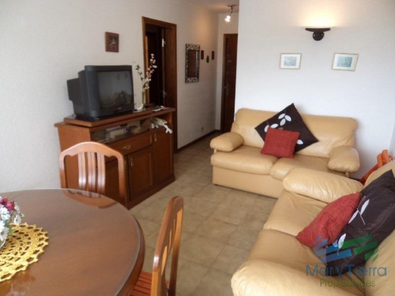 apartamento con vista espectacular a playa mansa y brava, piso alto-ref:2317