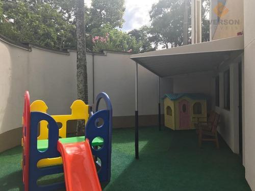 apartamento cond. tiffanys, com 2 dormitórios para alugar, 77 m² por r$ 849/mês - cidade jardim - rio claro/sp - ap0316