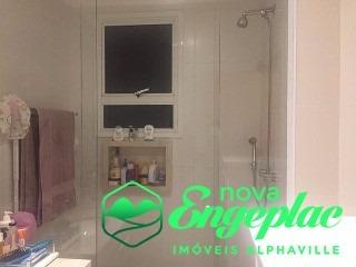 apartamento condominio reserva alphasitio 190m2 alphaville sp - ap01668 - 31946809