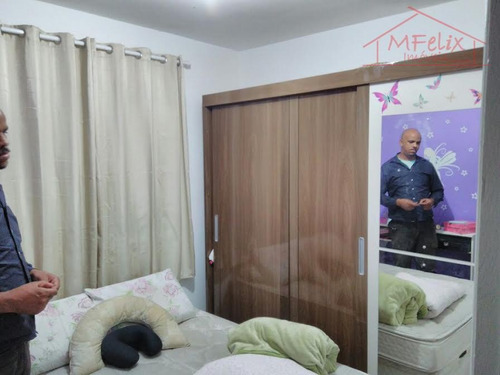 apartamento condomínio uni bosque maia, guarulhos, 2 dorms c/ suíte. - ap0576