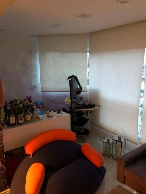 apartamento condomínio villagio majiou à venda, vila gonçalves, são bernardo do campo. - ap1705